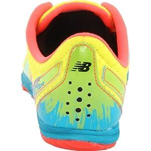 New Balance Women's WXC700 Spike Cross-Country Shoe,Yellow/Blue,7.5 B US