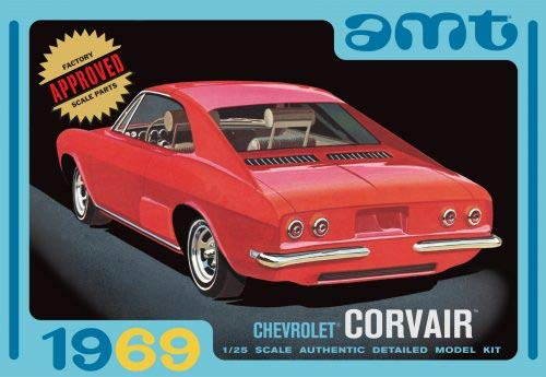 AMT 1:25 Scale 3-in-1 Chevrolet Corvair Edition Model Kit from AMT