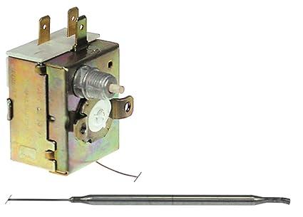 IMIT Seguridad Termostato cs6064 Max. Temperatura 238 °C 1 pines compatible con Mastro para