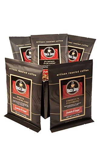 Boca Java Roast to Order Coffee, Holiday Flavored Coffees Baby Boca Gift Sampler