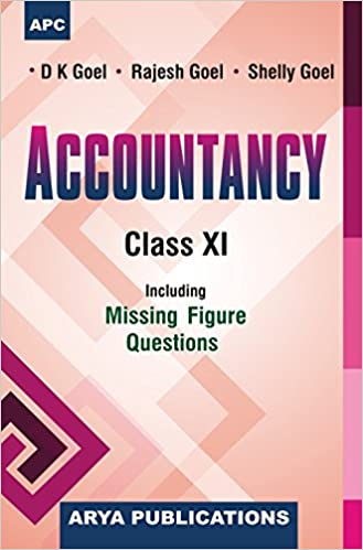 11th Class Accountancy Book