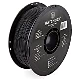 HATCHBOX ABS 3D Printer Filament, Dimensional Accuracy +/- 0.03 mm, 1 kg Spool, 1.75 mm, Black: more info
