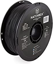 HATCHBOX ABS 3D Printer Filament, Dimensional Accuracy +/- 0.03 mm, 1 kg Spool, 1.75 mm, Black