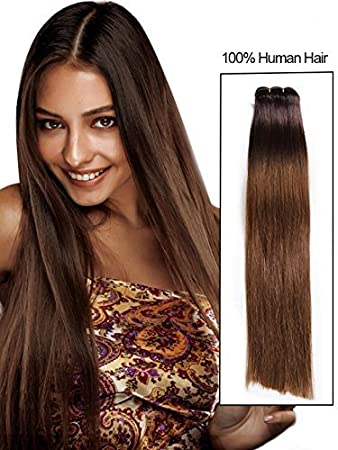 Real human hair weft extensions 14 colours silky long straight real human hair weft extensions 14 colours silky long straight hair weave 18 inch 100g for pmusecretfo Images