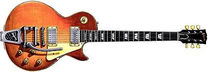 Gibson Les Paul Standard con Bigsby de Keith Richards, tarjeta de ...