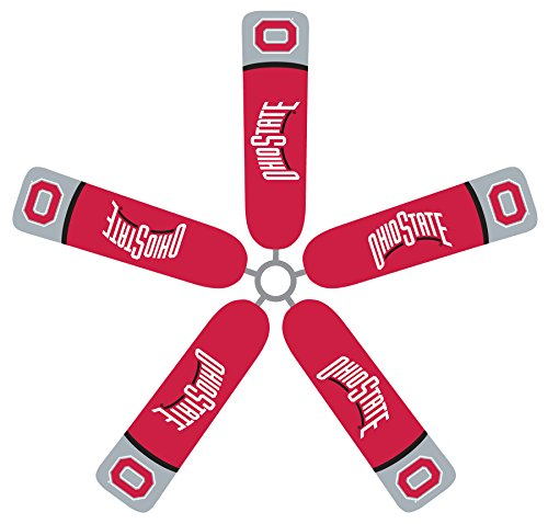Fan Blade Designs Ohio State Ceiling Fan Blade Covers by Fan Blade Designs