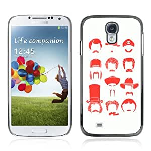 Designer Depo Hard Protection Case for Samsung Galaxy S4 / Different Famous Mustache Types