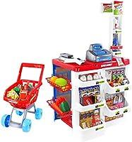 Amazon.com: Pinleg Juguete infantil Supermercado Till ...