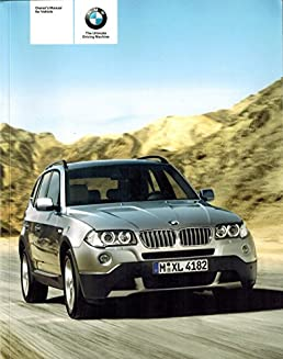 2010 bmw x3 xdrive 30i owners manual factory set amazon com books rh amazon com 2006 BMW X3 3.0I 2004 BMW X3 3.0I