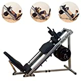 Body-Solid GLPH1100 Leg Press, Calf and Hack Squat Machine