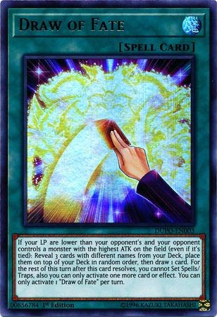 Yu-Gi-Oh! - Draw of Fate - DUPO-EN003 - Ultra Rare - 1st Edition - Duel Power (Yugioh Best Draw Cards)