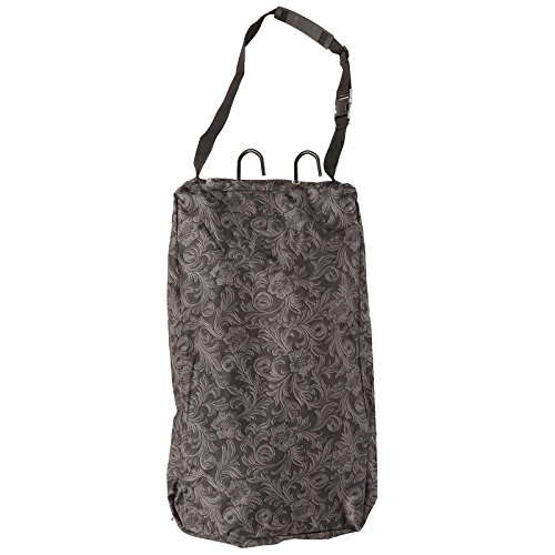 Tack Western (Tough-1 Hanging 3-Hook Tack Carrier Bag Brown Tool)