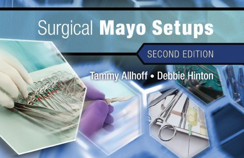 Surgical Mayo Setups by Allhoff, Tammy, Hinton, Debbie [Cengage,2012] (Spiral-bound) 2nd Edition