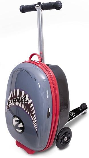 Amazon.com: ZincFlyte - Patinete de equipaje para niños, 18 ...