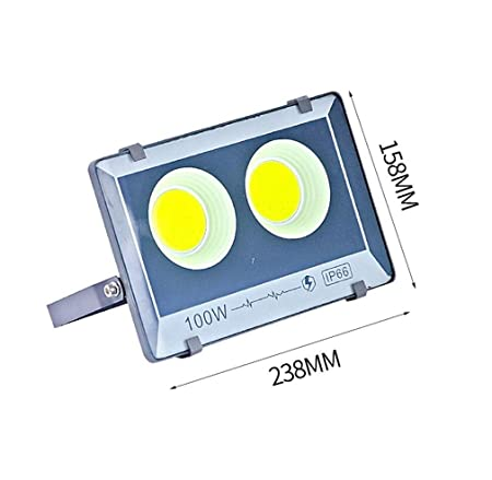 Q-fo Foco Proyector LED Exterior, Luz De Inundación Ingeniería ...