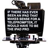 TELMAX RAIL-A-PROMPTER PLUS IPAD PRO / TABLET TELEPROMPTER