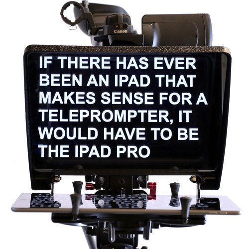 Jtl Heavy Duty Clamp (TELMAX RAIL-A-PROMPTER PLUS IPAD PRO / TABLET TELEPROMPTER)