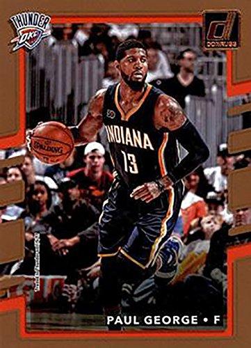 Paul George 2017-18 Donruss Basketball 41 Card Lot Oklahoma City Thunder #102