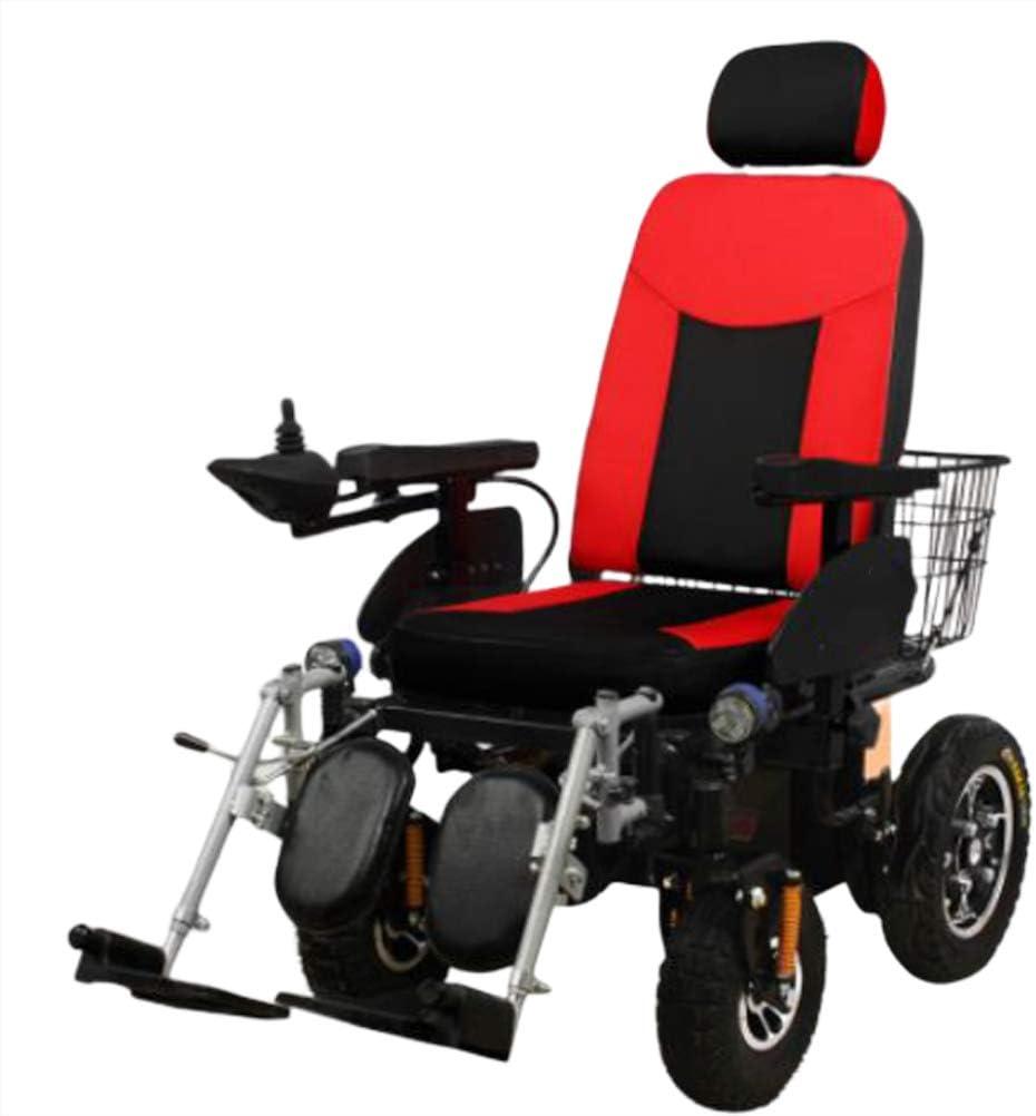 SPAQG 取り外し可能なベゼルとパッド入りヘッドレストを備えた、車椅子に優しい、完全リクライニングおよびセミリカンベント設計、16.5インチシート
