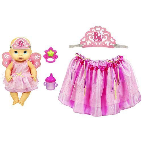 53ff80d49 Amazon.com  Baby Alive Fantasy Fairy Dress Up Set with Toy Doll by ...