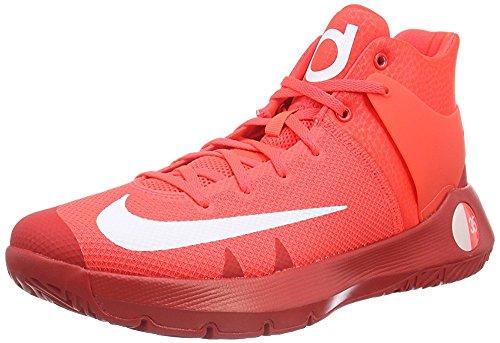 Nike KD Trey 5 IV, Scarpe da Basket Uomo Rojo (Bright Crimson / White-university Red)
