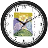 Surgeons in Operatinig Room Medical Doctor Wall Clock by WatchBuddy Timepieces (White Frame)