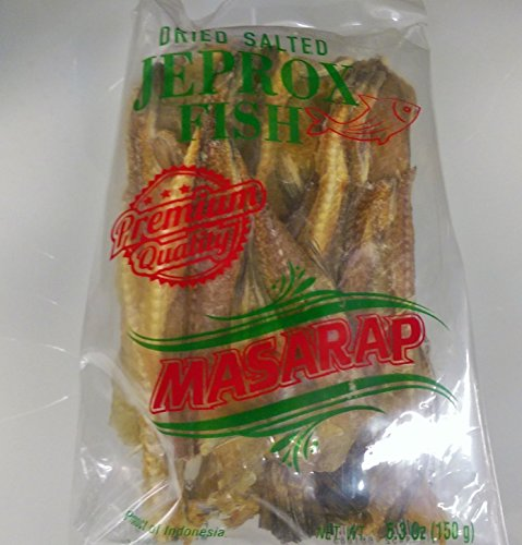 (Dried Salted Jeprox Fish Pack of Two150 G a Pack)