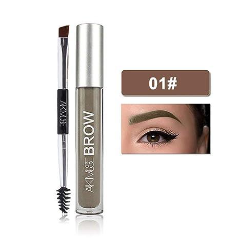 e1ac842f731 leegoal Semi-permanent Eyebrow Gel, Long-Lasting Waterproof Eyebrow Gel  Cream with Duo
