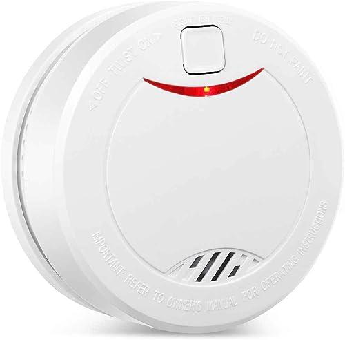 Alert Pro 10 Year Battery Smoke Detector Fire Alarm Photoelectric Sensor