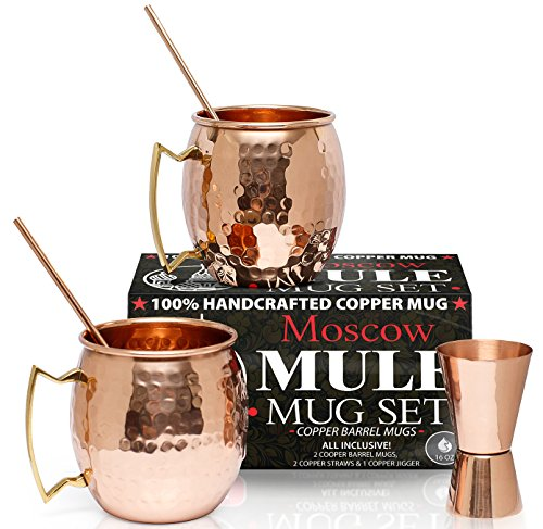 Benicci Set of 2 Pure Solid Moscow Mule  - Pottery Barn Decanter Shopping Results