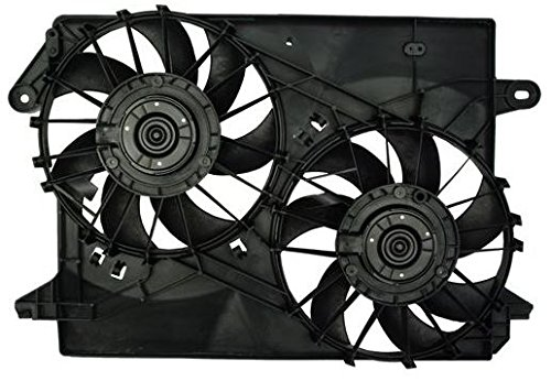 Dual Radiator and Condenser Fan Assembly - Pacific Best Inc For/Fit CH3115132 05-08 Dodge Magnum 05-10 Chrysler 300 06-09 Charger 2.7L/3.5L/5.7L/6.1L