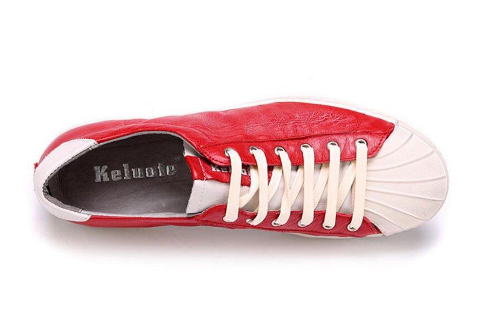SHIXRAN Herren Lace-up Flats Flats Flats Sommer Leder Schuhe Tägliche Casual Schuhe Soft Leder Schuhe Sailor Schuhe Große Größe 45 59f4b2