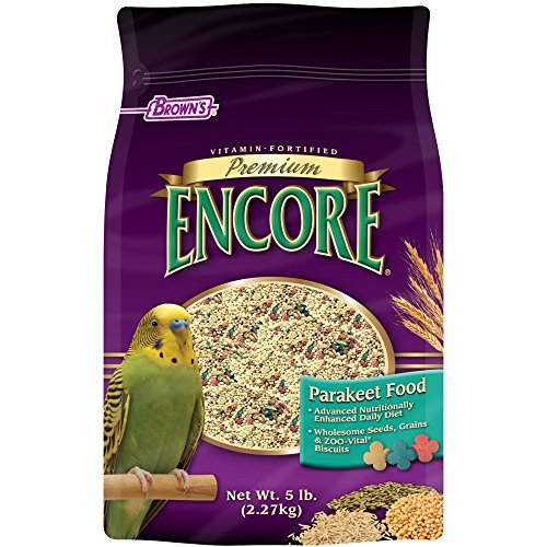 F.M. Brown's Encore Parakeet Food, 5-Pound ()