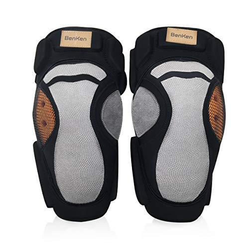 (1 Pair) Skiing Elbow Pads Sleeve Support Brace for Tennis, Skateboard, Roller Skating,Ski,Mountain Bike,Cross-Country Windproof and Warm,Collision Avoidance Anti-Slip Rubber for Adult/Teenager (Skiing Country Cross Skating)