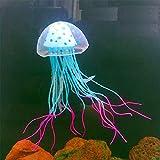 Glowing Jellyfish Aquarium Fish Tank Jelly Fish Ornament Decoration Creative Aquarium Accessories