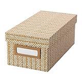 Storage Box Ikea TJENA, Kraft Brown
