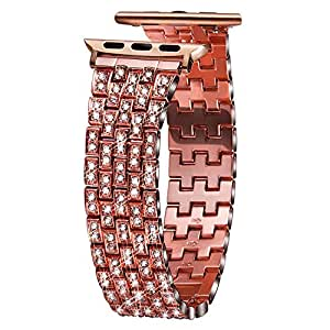 Amazon.com: VIQIV Bling Bands for Compatible Apple Watch