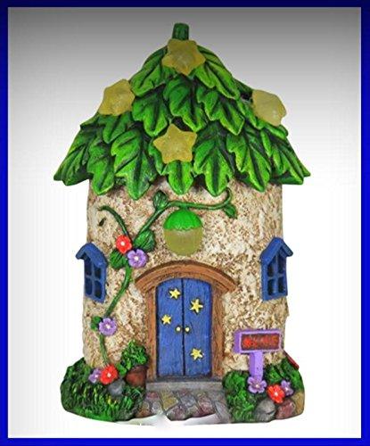 Fairy Garden Fun Solar Star Light Fairy House Dollhouse 687 - My Mini Fairy Garden Dollhouse Accessories for Outdoor or House Decor
