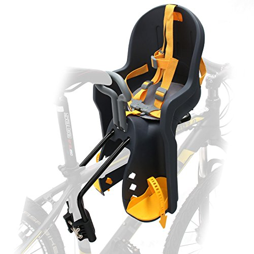 CyclingDeal Bicycle Kids Child Front Baby Seat bike Carrier USA Standard with Handrail by CyclingDeal (Image #4)