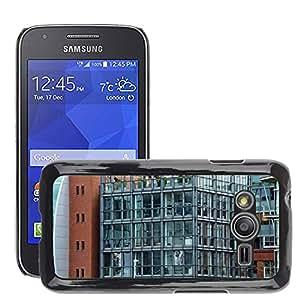 Etui Housse Coque de Protection Cover Rigide pour // M00151612 Arquitectura Arquitectura Moderna // Samsung Galaxy Ace4 / Galaxy Ace 4 LTE / SM-G313F