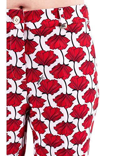 Para Rojo Luckylu Mujer Luckylu Pantalón Pantalón qnR1xgwPH