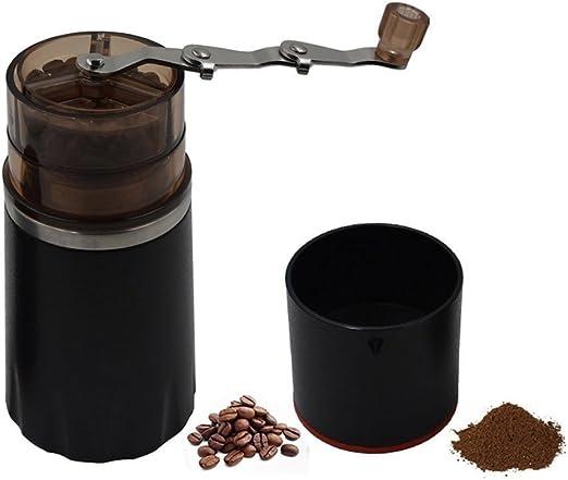 znz Mini – Cafetera de espresso manual, molinillo de café, filtro de café taza, café Brewer, portátil cafetera eléctrica, todo en uno máquina de café taza para viaje ...