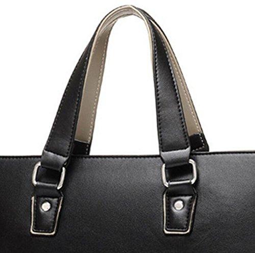Paquete M Sección Transversal Del Bolso De Negocio Mochila Bolsa De Hombro Paquete Diagonal Black