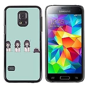 Dragon Case - FOR Samsung Galaxy S5 Mini, SM-G800 - Life is like a play - Caja protectora de pl??stico duro de la cubierta Dise?¡Ào Slim Fit