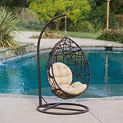 Wicker Teardrop Chairs