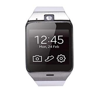 Para Samsung Iphone, hipzop GV18 Bluetooth reloj Smart Watch ...