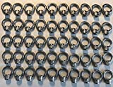 50 Pieces Stainless Steel 316 Lifting Eye Nut 1/4'' UNC Marine Grade