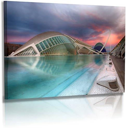 Fotoatelier Dirk Haas Premium Pared Imágenes XXL – Arquitectura – Imágenes – España – Valencia – Museo Artes Cien cias: Amazon.es: Juguetes y juegos