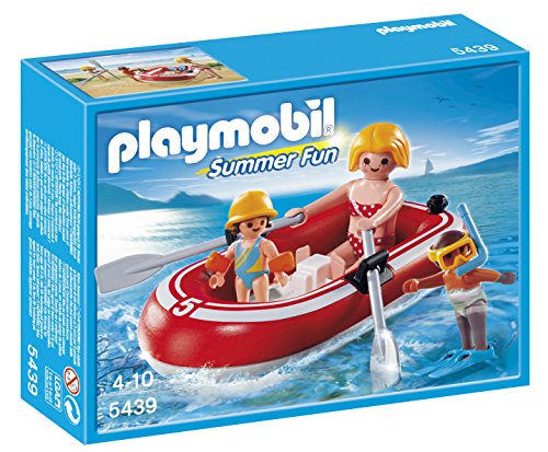 PLAYMOBIL® Swimmers with Raft Playset