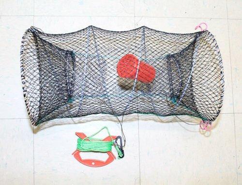 Crab Crawfish Lobster Shrimp Collapsible Trap Cast Nylon ...